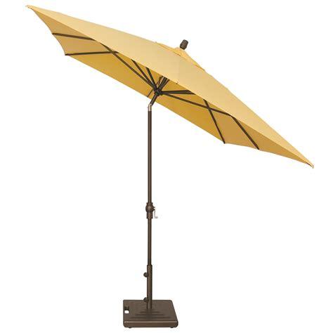 treasure garden umbrella treasure garden aluminum 8 x 10 crank lift rectangular