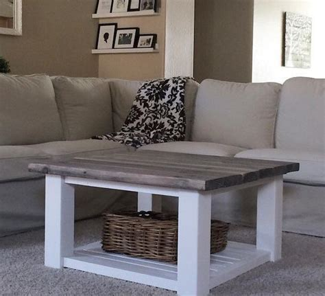 Square coffee table solid wood farmhouse coffee table   etsy. Square Farmhouse Coffee Table by SweetNettaJean on Etsy