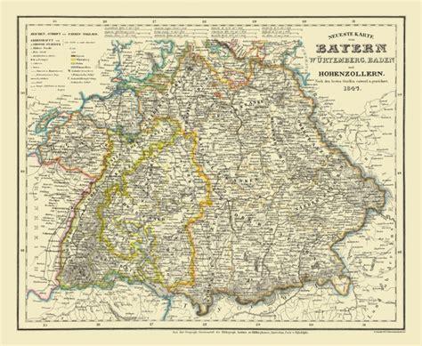 Bavaria Germany Map