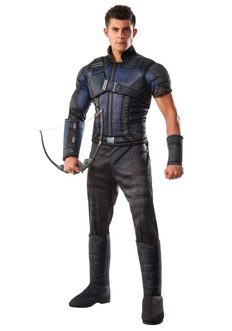 Men Deluxe Civil War Hawkeye Costume