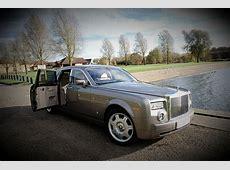 Grey Rolls Royce Phantom Luxury Wedding Car Hire Birmingham