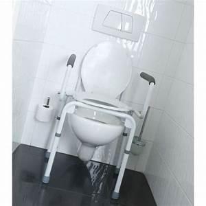 Rehausseur Toilette Adulte : chaise per e de toilettes multi usages ~ Farleysfitness.com Idées de Décoration