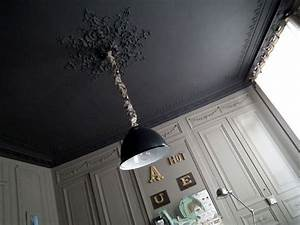 Peindre Un Plafond Facilement : les 25 meilleures id es de la cat gorie plafond noir sur ~ Premium-room.com Idées de Décoration