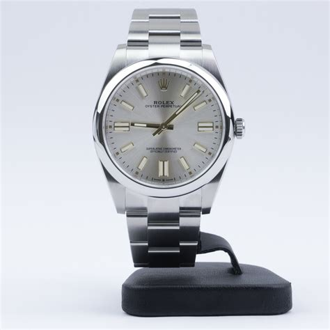 Rolex Oyster Perpetual 41 124300 Silver Dial 2020 Novelty ...