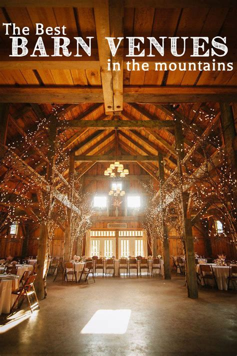 the barn wedding venue best barn venues in the mountains