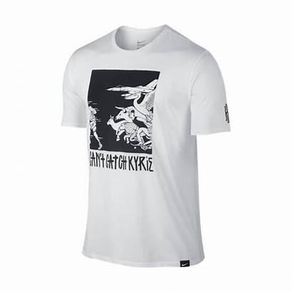 Kyrie Catch Camiseta Nike Blanco Negro Manelsanchez