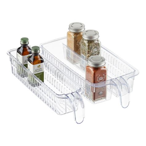 Container Store Spice Rack by Handled Spice Baskets The Container Store