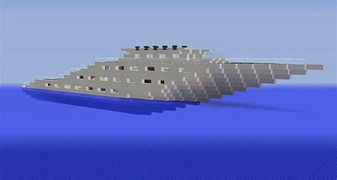bateau de luxe minecraft project