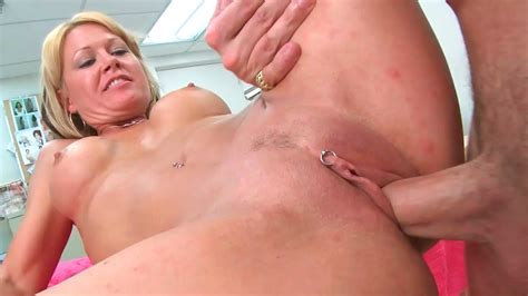 Old Blonde Milf Jenny Fucks A Young And Horny Stud