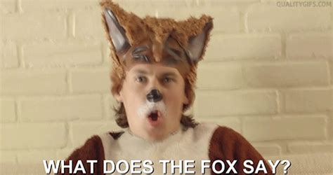 What Does The Fox Say Gif  Find & Share On Giphy