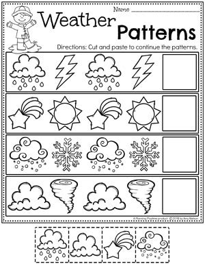 weather activities planning playtime