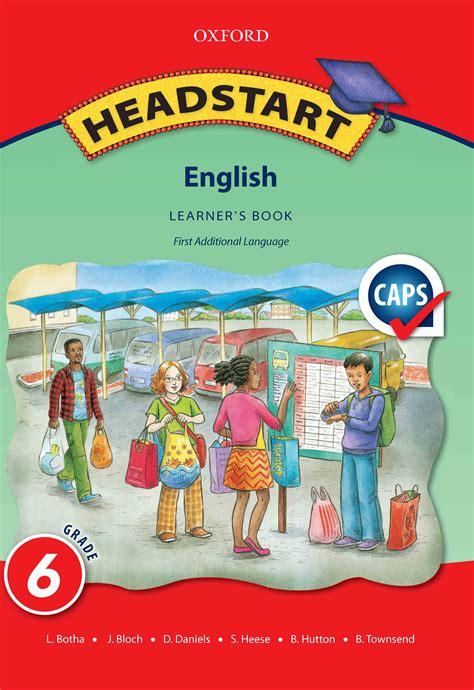 Headstart English Grade 6 Learner's Book | WCED ePortal
