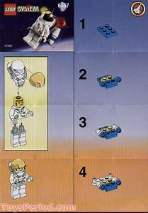 Lego 6457 Astronaut Figure Set Parts Inventory And