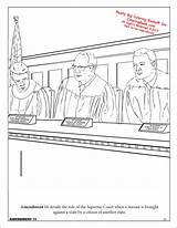 Constitution Coloring Activity Pages Books Getcoloringpages Coloringbook sketch template