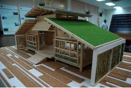 Modern Bamboo House Blueprints Bamboo House Design Miniature Green House Design