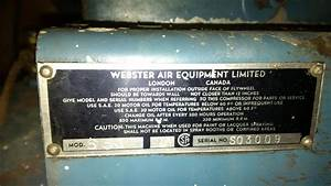 Webster Air Compressor