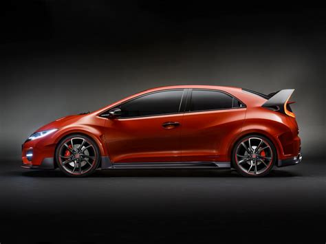 Civic Type R by Honda Unveils The New Civic Type R Concept At Geneva Motor