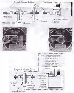 Isspro Fuel Pressure Isolator