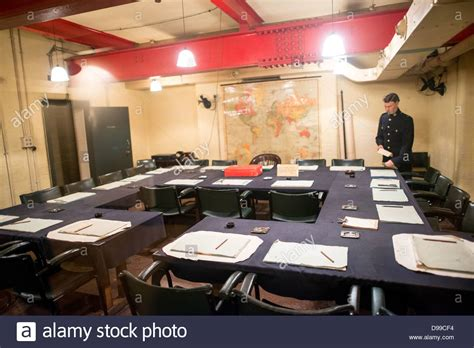 Cabinet War Rooms by The Cabinet War Room At The Churchill War Rooms In