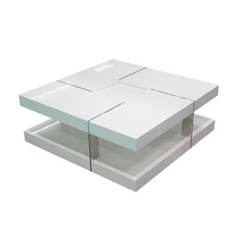 table blanche carree conceptions de maison blanzza
