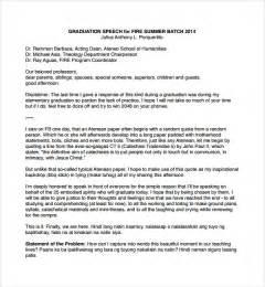 sle graduation speech exle template 10 free documents in pdf word