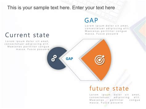 gap analysis powerpoint template  current state future