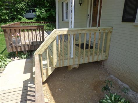 concrete porch removal and deck replacement blue ash ohio