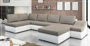 Grand Canapé D Angle : grand canap d 39 angle pas cher sofamobili ~ Teatrodelosmanantiales.com Idées de Décoration