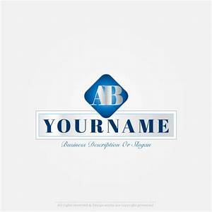 create 2 letters logo design online with our free alphabet With letter logo creator online