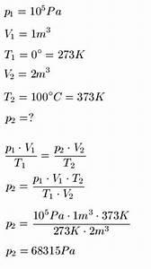 Molvolumen Berechnen : druck temperatur zusammenhang ~ Themetempest.com Abrechnung
