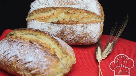 pan casero con masa madre la receta que funciona