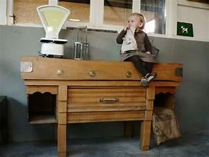 Billot De Boucher Ikea : billot de boucher meuble de metier ancien ~ Voncanada.com Idées de Décoration