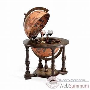 Bar Globe Terrestre : bar sur art d co marin ~ Teatrodelosmanantiales.com Idées de Décoration
