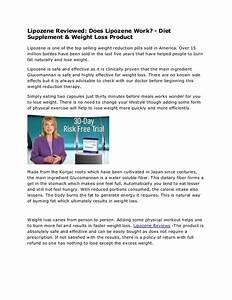 Lipozene Reviews Diet Supplement  U0026 Weight Loss Product