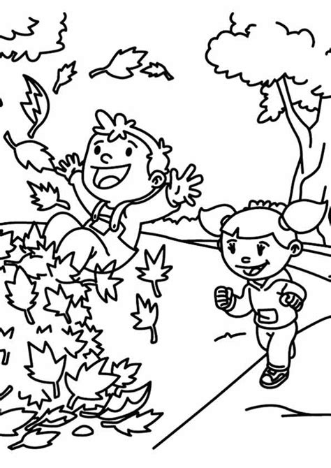 Free Printable Fall Coloring Pages for Kids - Best