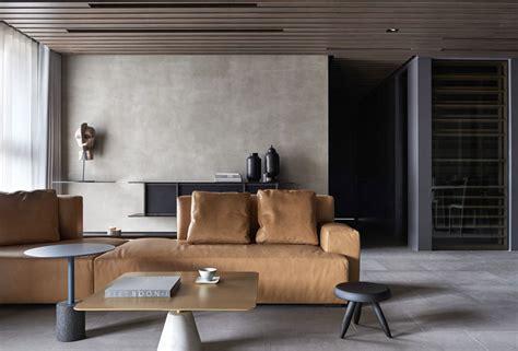 Minimalist Taiwanese Interior Design by Amazingly Stylish Apartment Combine Asian Minimalism And