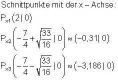Achsenschnittpunkte Berechnen Quadratische Funktion : ergebnisse training ganzrationale funktionen vii ~ Themetempest.com Abrechnung