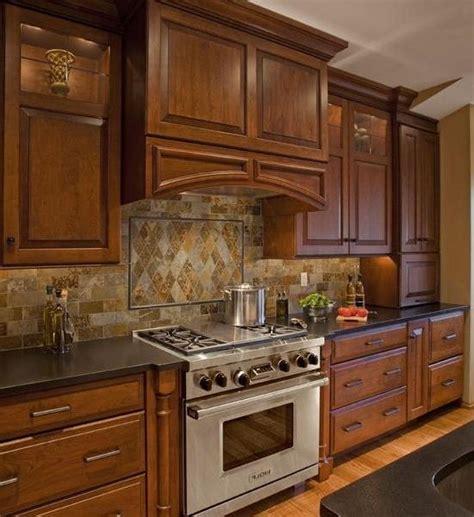 kitchen   stove photo backsplash
