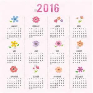 Cute Printable Calendar 2017