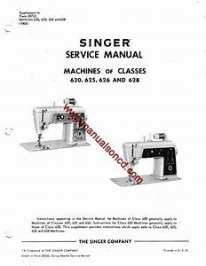 Singer 620 Sewing Machine Service Manual