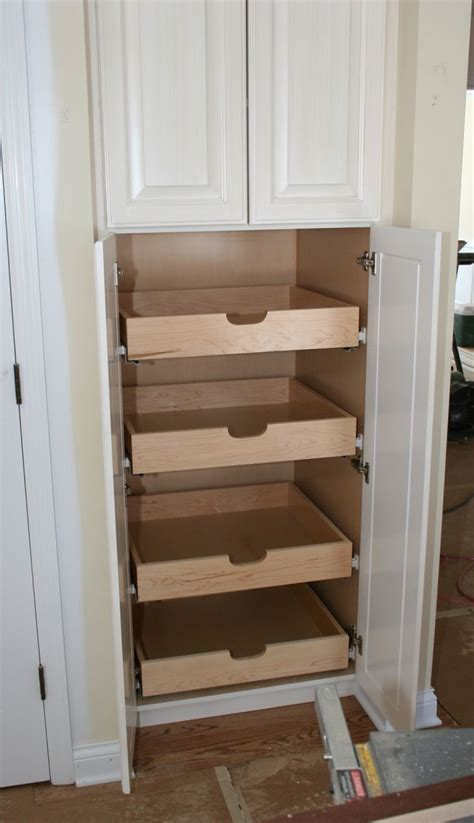kitchen pantry cabinet closet cabinet drawers woodworking projects plans
