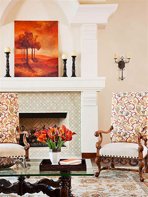fireplace surround ideas and eye catching tile fireplace design ideas