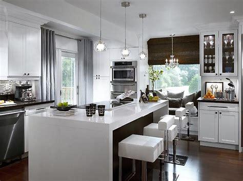 picking curtains   modern kitchen
