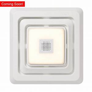 Bathroom Exhaust Fan With Led Light And Bluetooth