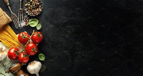 italian food background  ingredi high quality food