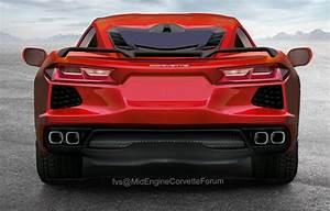 C8 Corvette Designer Take Up An Up Close Look At The 2020 C8 Corvette 39 S Rear