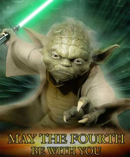May the force be with you! May the 4th Be With You! « Web Geekdom!