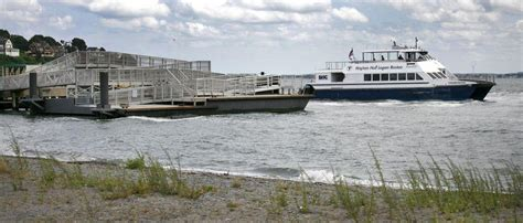 Quincy Ferry Boat Schedule by Hull Boston Ferry Service To Be Suspended For At Least
