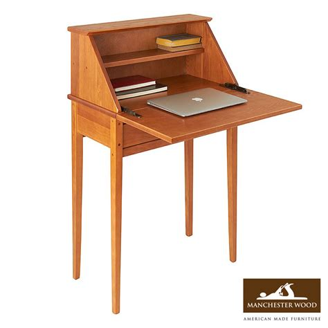 unfinished wood secretary desk manchester wood shaker desk options an array of solid