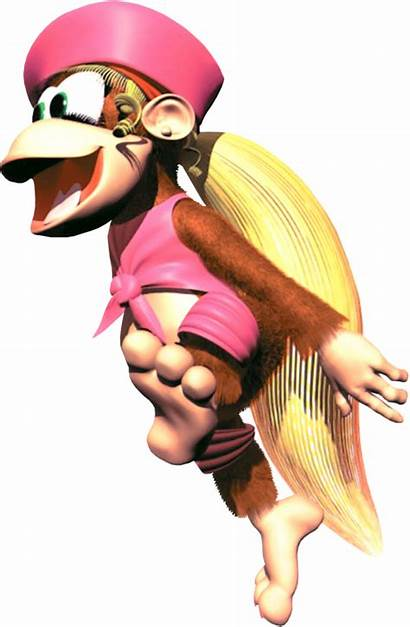 Dixie Kong Donkey Country Diddy Dkc2 Don